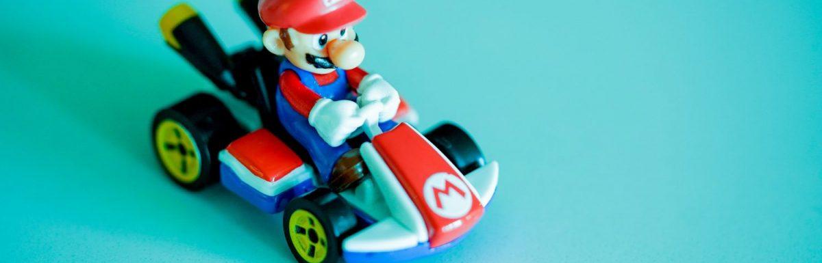 Il mio record del mondo a Mario Kart